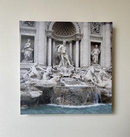 "SStraub Trevi Fountain - European Splendor Original Photo - 12"" x 12"""