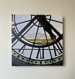 "SStraub Musee D'Orsay Clock - European Splendor Original Photo - 12"" x 12"""