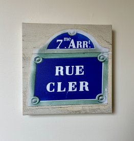 "SStraub Rue Cler (Paris)- European Splendor Original Photo - 12"" x 12"""