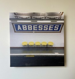 "SStraub Abbesses Metro Stop - European Splendor Original Photo - 12"" x 12"""