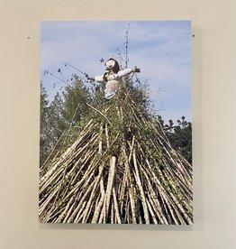 """SStraub Čarodejnice (Czech Witch Burning)- European Splendor Original Photo - 24""""x18"""""""