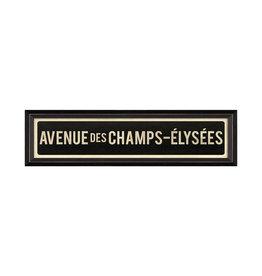 AVENUE DES CHAMPS ELYSEES Framed Picture