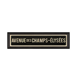 Spicher & Company AVENUE DES CHAMPS ELYSEES Framed Picture