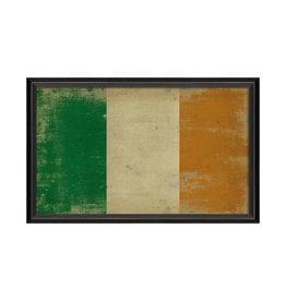 "IRISH FLAG Framed Picture - 17.125"" x 25.625"""