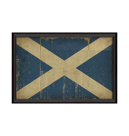 Spicher & Company Scottish Flag - Framed Picture