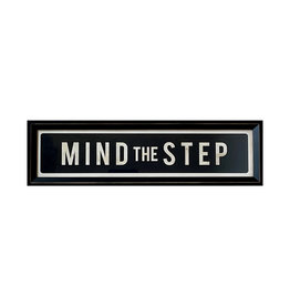Mind the Step - Framed Picture