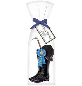 Equestrian Boot - Blue Ribbon