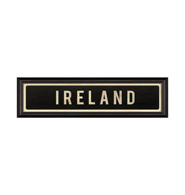 """IRELAND Framed Picture - 7.625"""" x 25.625"""""""