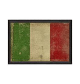 """ITALIAN FLAG Framed Picture - 17.125"""" x 25.625"""""""