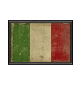 """Spicher & Company ITALIAN FLAG Framed Picture - 17.125"""" x 25.625"""""""