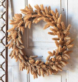 "Hops Wreath | Beige - 18"""