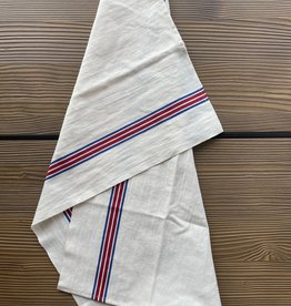 Charvet Editions - Bistro/Tea Towel Piano Blue/Red