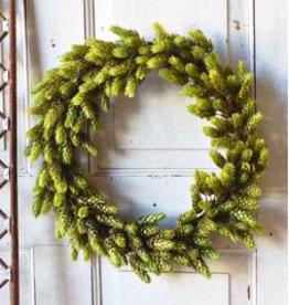 "Hops Wreath | Green - 18"""