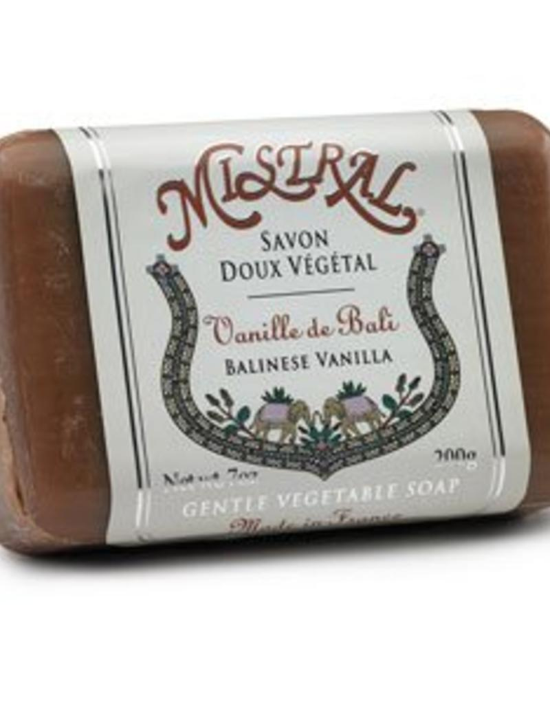 Balinese Vanilla  7 oz - Mistral Classic French Soap Collection