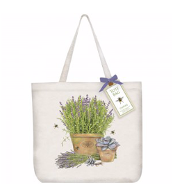Lavender Pot Tote