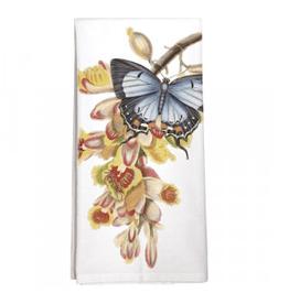 Butterfly Orchid Single Towel