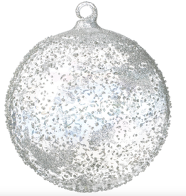 "Textured Ball Ornament - 5"""
