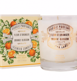 Panier Des Sens SCENTED CANDLE  Orange blossom - 6oz.  Panier Des Sens!
