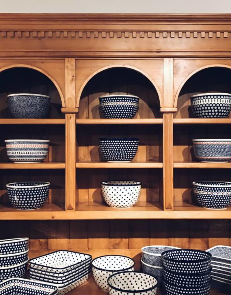 Large Serving Bowl - Peacock Pattern
