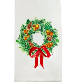 Towel - A Christmas Wreath