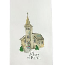 Towel - Church with Peace on Earth