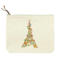 Cosmetic Bag - Eiffel Tower w/LIghts