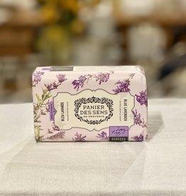 Panier Des Sens Shea Butter Soap Bar: Blue Lavender - 7 oz.  Panier Des Sens!