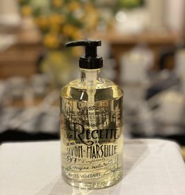 """Panier Des Sens Liquid Marseille Soap: """"Provence"""" in Reusable Glass Bottle - 16.9 oz.  Panier Des Sens!"""