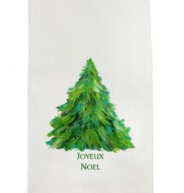 Towel - Tree Joyeux Noel