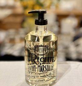 """Panier Des Sens Liquid Marseille Soap: """"Rejuvenating Rose"""" in Reusable Glass Bottle - 16.9 oz.  Panier Des Sens!"""
