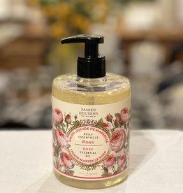 """Panier Des Sens Liquid Marseille Soap: """"Rejuvenating Rose"""" - 16.9 oz.  Panier Des Sens!"""