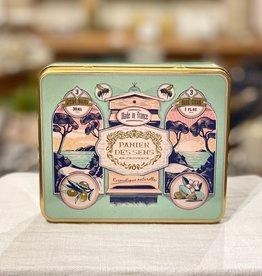 Panier Des Sens Timeless Hands Tin Gift Set: Honey, Almond & Grape Hand Creams.  Panier Des Sens!