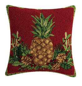 """WELCOME WISHES HOOK PILLOW  18X18"""""""