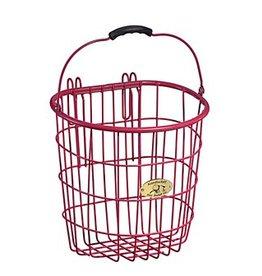 Bike Basket - Surfside Wire Pannier -  Pink