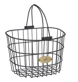 Bike Basket - Surfside Adult Wire - Charcoal Gray