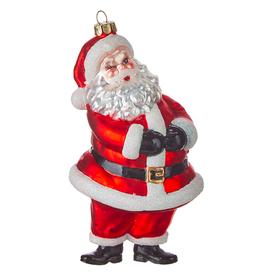"""6"""" Santa Ornament"""