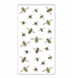 Scattered Bee Bagged  Single Towel