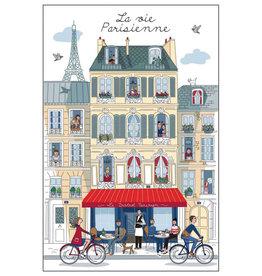 La vie Parisienne Towel