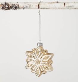 "Snowflake Ornament - 3.5""L x 1""W x 3.75""H"