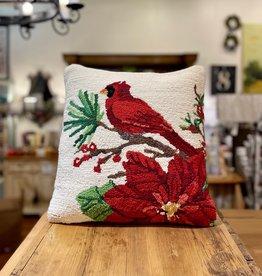 """Winter Song Hook Pillow - 16X16"""""""