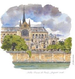 Notre-Dame de Paris - Facade Sud