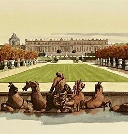 "Versailles Greeting Card - 8.25"" x 4"""