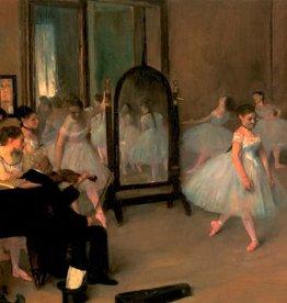 "Classe De Danse 1871 Greeting Card - 6"" x 6"""