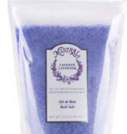 Bath Salt Bag Lavender 22.9 oz - Mistral Signature Collection