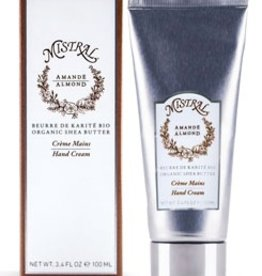 Boxed Almond Hand Cream 3.38 oz