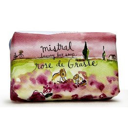 Rose De Grasse - Mistral Provence Road Trip Collection  Soap 7 oz
