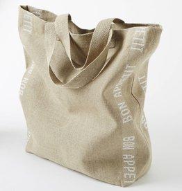 "Charvet Editions Charvet Editions - Bag/White Bon Appetit 18""x20"""