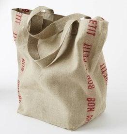 """Charvet Editions Charvet Editions - Bag/Rouge Bon appetit 18""""x20"""""""