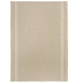 """Charvet Editions Charvet Editions - Bistro/Tea Towel Natural & White Country - 20""""x30"""""""