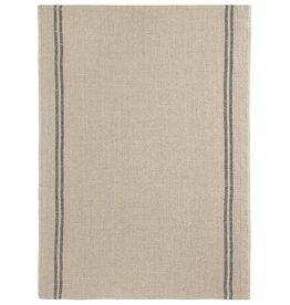 "Charvet Editions - Bistro/Tea Towel Natural & Black Country - 20""x30"""